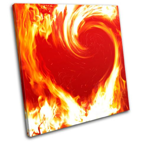 Flame Heart Love - 13-1299(00B)-SG11-LO